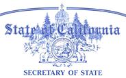 CA Secretary of State logo